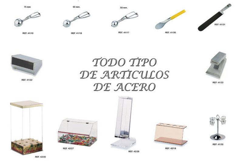 productos distribucion articulos para heladerias franfer horchateria los valencianos