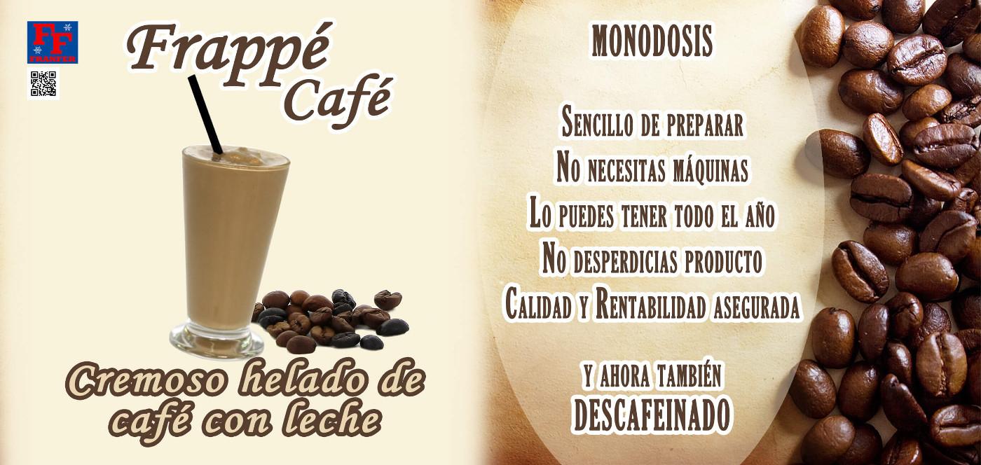 productos fabricacion frappe de cafe franfer horchateria los valencianos