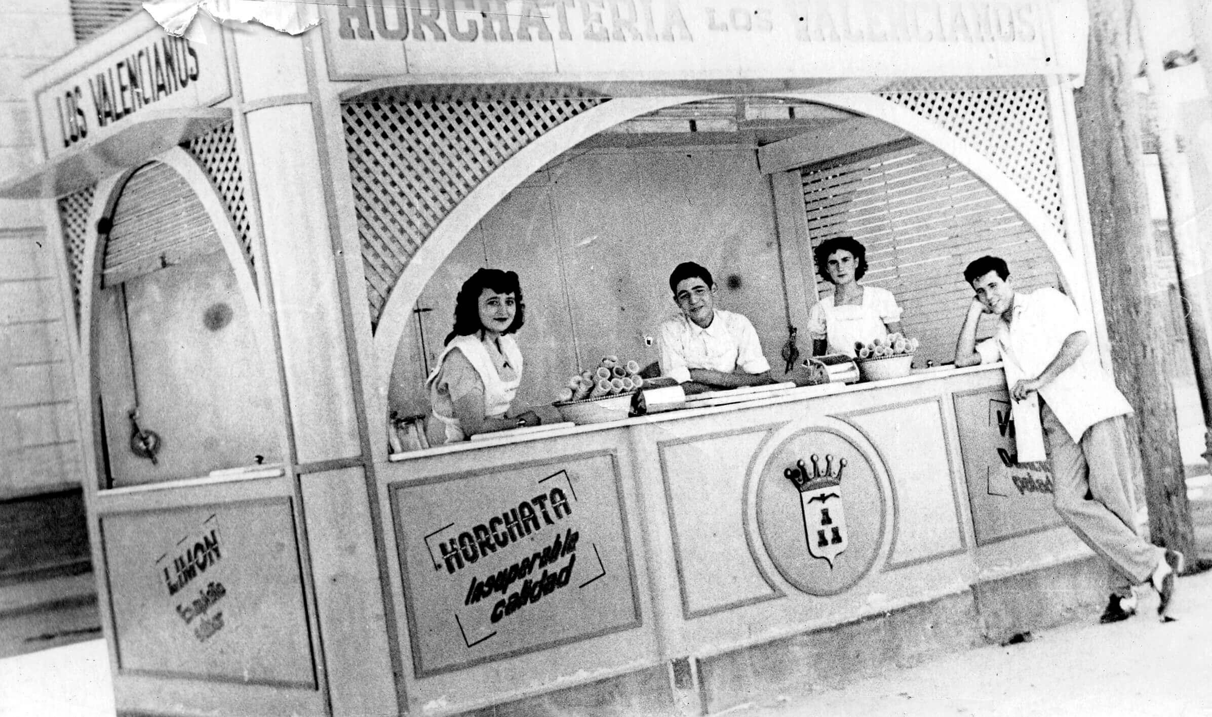 1950 – Kiosko de helados paseo de la Feria