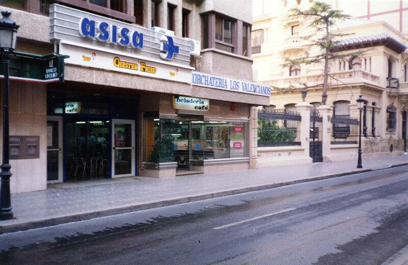 1983 – Inauguración C/Tesifonte Gallego