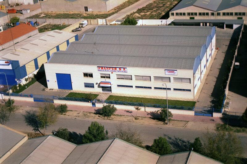 1990 – Fábrica de helados FRANFER S.A. Polígono Industrial